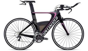 specialized black pink bike
